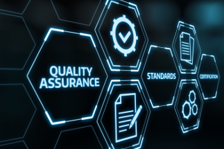 Grid layout linking quality assurance, standards and certfication